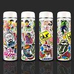 PAMIYO 300pcs Autocollant, Sticker de Voiture en Vinyle Stickers Pack des Vintage Retro Stickers Bomb Pack Idéal pour Les Ordinateurs Portables Skateboard Bagages Valise vélo de la marque PAMIYO image 3 produit