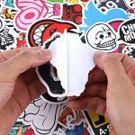 PAMIYO Autocollants 200pcs Stickers Mural différents styles, inclut adorables, drôles, plantes et animaux, s'appliquer à l'ordinateur téléphone frigo bagages voiture mur macbook de la marque PAMIYO image 1 produit