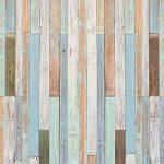 Papier Peint Bois 274,5 x 254 cm Mur Optique Pastel Maritime Vintage Panneaux Panneau Photo Mural Tableaux Muraux Déco Colle y Compris livingdecoration de la marque murimage image 1 produit