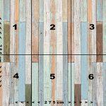 Papier Peint Bois 274,5 x 254 cm Mur Optique Pastel Maritime Vintage Panneaux Panneau Photo Mural Tableaux Muraux Déco Colle y Compris livingdecoration de la marque murimage image 3 produit