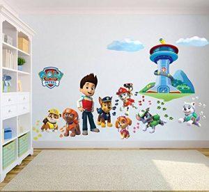 Paw Patrol Sticker mural 3D Chambre Garçon Fille?Taille enfants de la marque PrintNow image 0 produit