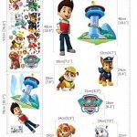 Paw Patrol Sticker mural 3D Chambre Garçon Fille?Taille enfants de la marque PrintNow image 3 produit