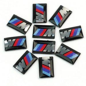 Pinzhi Lot de 10 stickers logo BMW M-Tec pour tableau de bord/roues M5/M6 de la marque ReFaXi image 0 produit