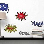 Plage 152502 Sticker Mural - Comics, 1 Planche, 24 x 68 cm de la marque Décoration murale adhésive 24*68 image 1 produit