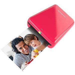 Polaroid Zip - Imprimante Équipée de la Technologie d'Impression sans Encre Zink, 5 X 7,6 cm, Micro USB, Bluetooth, Compatible avec iOS et Android, Rouge de la marque Polaroid image 0 produit