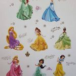 Princesses Stickers Muraux Princesses Disney Chambre D'enfants, Stickers Mural Enfant Fille Chambre Bebe Wall Sticker Kids Autocollants Princesse de la marque Kibi Store image 1 produit
