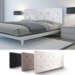 Probache - Tête de lit capitonnée PVC Blanc 160x58 cm de la marque Probache image 1 produit
