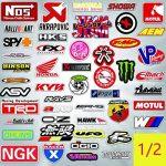 Q-Window Lot Autocollants Voiture et Moto Modified Brand Logo Series (103 pcs) Stickers Vinyle pour Ordinateur Portable, Voiture,Moto,Planche à roulettes,vélo,Bagages,Iphone-Decal Graffiti-étanche de la marque Q-Window image 2 produit