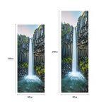 RAIN QUEEN HD Géant Sticker Autocollant Frigo Rénovation Réfrigérateur Freezer Frigidaire Amovible Décoration Cuisine Magnifique Paysage (60X180cm, Chute d'Eau) de la marque RAIN-QUEEN image 3 produit