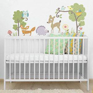 RoomMates Stickers muraux repositionnables Enfant Animaux de la forêt de la marque Thedecofactory image 0 produit