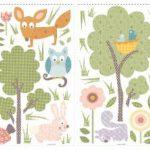 RoomMates Stickers muraux repositionnables Enfant Animaux de la forêt de la marque Thedecofactory image 4 produit