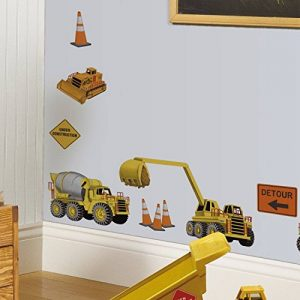 RoomMates Stickers muraux repositionnables Enfant Chantier de construction de la marque Thedecofactory image 0 produit