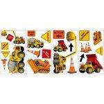 RoomMates Stickers muraux repositionnables Enfant Chantier de construction de la marque Thedecofactory image 2 produit