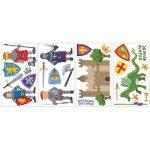 RoomMates Stickers muraux repositionnables Enfant Chevaliers et dragons de la marque Thedecofactory image 3 produit