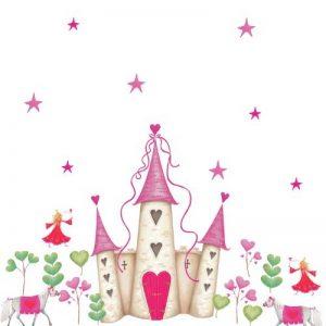 RoomMates Stickers muraux repositionnables Enfant Château de princesse de la marque Jomoval image 0 produit