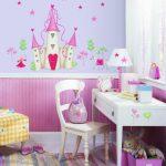 RoomMates Stickers muraux repositionnables Enfant Château de princesse de la marque Jomoval image 1 produit