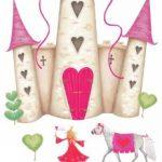 RoomMates Stickers muraux repositionnables Enfant Château de princesse de la marque Jomoval image 2 produit