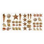 RoomMates Stickers muraux repositionnables Enfant Coquillages de la marque Thedecofactory image 3 produit