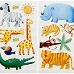 RoomMates Stickers muraux repositionnables Enfant Jungle de la marque Thedecofactory image 1 produit