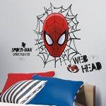 RoomMates Ultimate Spider Man Web Tête Sticker Mural repositionnable Marvel de la marque RoomMates image 1 produit