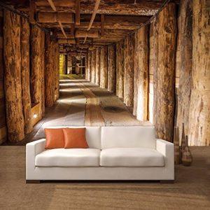 Salt mine papier peint photo 366 x 254 cm tronc deco.deals salzmine soutes bois de la marque deco-deals-top image 0 produit