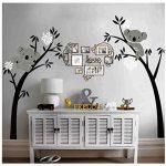 Sayala Koala Arbre Stickers Muraux - Mon-Baby-Dad Koala Branches Stickers/Autocollant Adhésif Mural Pour Chambre Enfants Bébé Nursery Room Decor,2.5 * 2mm (Blanc) de la marque Sayala image 3 produit