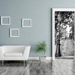 Scenolia Affiche Autocollant de Porte MONTÉE SACRÉ Coeur 85 x 205 cm de la marque Scenolia image 1 produit