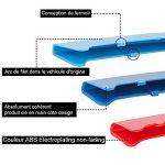 SENZEAL 3pcs Grille insert Rein Grille Grill Garniture Boucle Clip pour B M W Série 3 Bleu Foncé/Bleu/Rouge(2013 2014 2015 2016 2017 Sports 8 Coups) de la marque SENZEAL image 4 produit