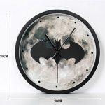 SHIQUNC 3D Batman Horloge Murale Rétro Européen Style Salon Horloges de la marque SHIQUNC image 1 produit