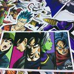 shopiseller Dragon Ball Stickers Bomb, (Lot de 36 Pièces), Autocollant, Stickers Bomb z pour pc, Vélo, Voiture, Vélo, Valise, Murs et Meubles.(lot 36 Pieces) de la marque shopiseller image 3 produit