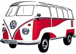 Smartdeco 1962 Sticker mural Bus Samba Volkswagen T1 Rouge de la marque Smartdeco image 0 produit