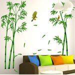 SOMESUN 3D Stickers Muraux Forêt de Bambous DIY Amovible Autocollant Mural Autocollant de Papier Mural de la marque SOMESUN image 1 produit