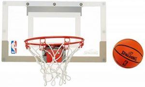 SPALDING - Mini Panier Basket NBA - Mini Ballons inclus - Maison ou Bureau - SLAM JAM BOARD TEAMS (56-100CN) de la marque Spalding image 0 produit