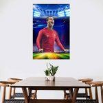 Star Légendaire Cristiano! Capitaine De L'équipe De Football Portugaise Ronaldo HD Poster Fans Décoratifs Stickers Muraux Sport de la marque Earendel image 4 produit