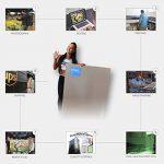 Startonight Papier Peint 3D Lune Et Bateau, Décoration Murale Photo sur le mur Grand Format XXL Motif Moderne Déco d'Art Murale 82 x 150 CM de la marque Mural Wall Art image 4 produit