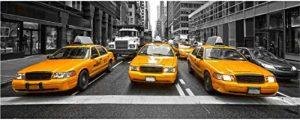 Sticker Autocollant Tête de Lit Taxi New York - Satdl0954 (100x40cm) de la marque PPA-DESIGN image 0 produit