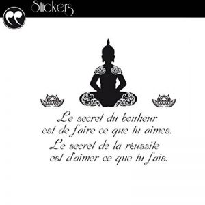 Sticker citation Bouddha de la marque Zen Air image 0 produit
