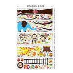 Sticker Géant - Arbre. Singe. Girafe et Oiseaux de la marque Ambiance-Live image 2 produit