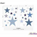 Sticker mural chambre d'enfant autocollants de décoration étoiles dans un délic de la marque I-love-Wandtattoo image 1 produit