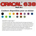 Sticker mural Chez nous - Beestick (72x119, rouge) + raclette de pose de stickers muraux Beestick de la marque Beestick image 1 produit