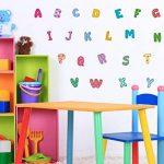 Sticker mural kit alphabet motifs multicolores lettres coller de la marque I-love-Wandtattoo image 1 produit