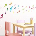 Sticker mural kit Notes multicolores coller de la marque I-love-Wandtattoo image 1 produit