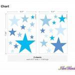 Sticker mural kit étoiles bleues pour garçon coller de la marque I-love-Wandtattoo image 2 produit