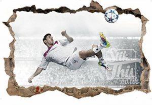 Sticker mural Motif Lionel Messi 7 Barcelona Argentine En couleur Haute qualité de la marque Stik-This image 0 produit