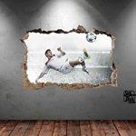 Sticker mural Motif Lionel Messi 7 Barcelona Argentine En couleur Haute qualité de la marque Stik-This image 1 produit