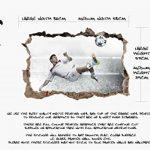 Sticker mural Motif Lionel Messi 7 Barcelona Argentine En couleur Haute qualité de la marque Stik-This image 2 produit