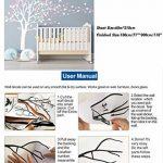 Sticker mural par BDECOLL,vinyle motif arbre à cœurs pour chambres d'enfants et décoration maison /Décoration murale en fleurs /Autocollant mural d'arbre de nature de la marque BDECOLL image 4 produit