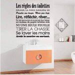 sticker mural pour toilette TOP 12 image 2 produit
