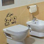 sticker mural pour toilette TOP 4 image 1 produit