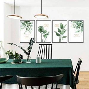 Sticker mural salon salle à manger moderne minimaliste plante verte cadre photo frais amovible de la marque YUXAN image 0 produit